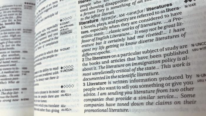 Análisis literario en inglés
